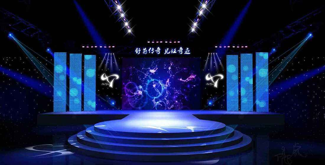 The features of LED stage rental display solution